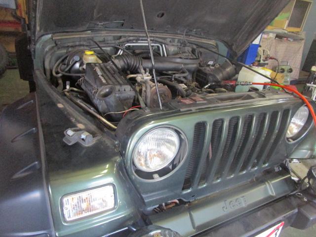 納車前点検から車検サービス メンテナンス 修理 TJ JK ラングラー 多くのご依頼有難うございます_b0123820_1222256.jpg