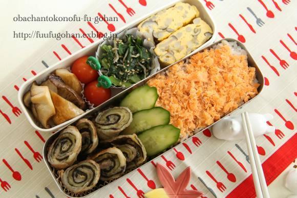 月曜鮭曜日のお弁当_c0326245_11210109.jpg