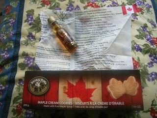 カナダ土産_a0064474_14442524.jpg