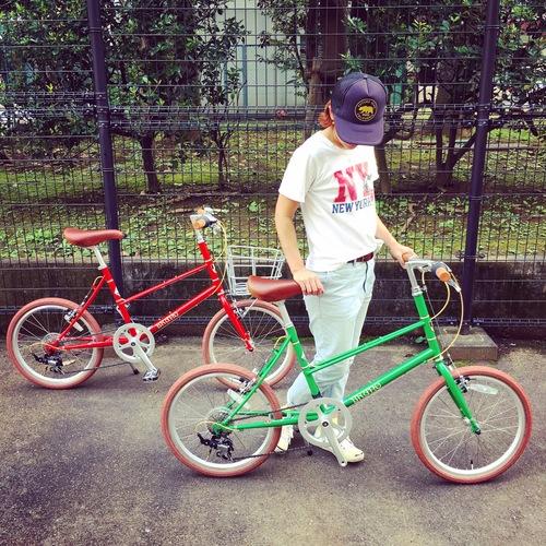 BRUNO 2017 『MIXTE FIAT』ブルーノ ミニベロ おしゃれ自転車 自転車女子 自転車ガール_b0212032_18441894.jpg