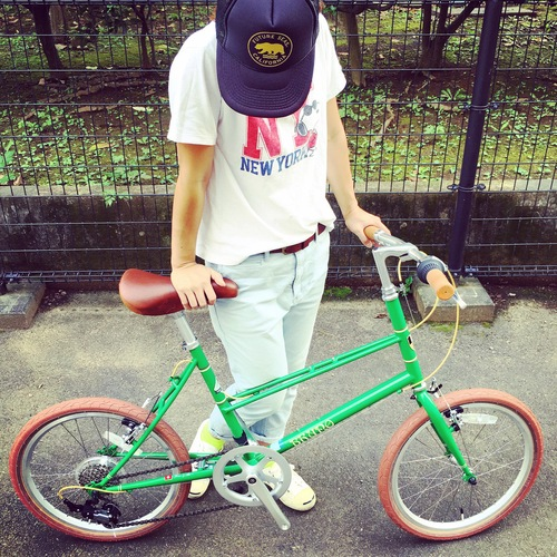 BRUNO 2017 『MIXTE FIAT』ブルーノ ミニベロ おしゃれ自転車 自転車女子 自転車ガール_b0212032_18444137.jpg