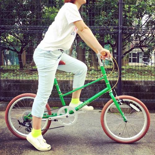 BRUNO 2017 『MIXTE FIAT』ブルーノ ミニベロ おしゃれ自転車 自転車女子 自転車ガール_b0212032_18454339.jpg