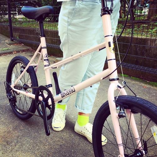 BRUNO 2017 『MIXTE FIAT』ブルーノ ミニベロ おしゃれ自転車 自転車女子 自転車ガール_b0212032_18482160.jpg