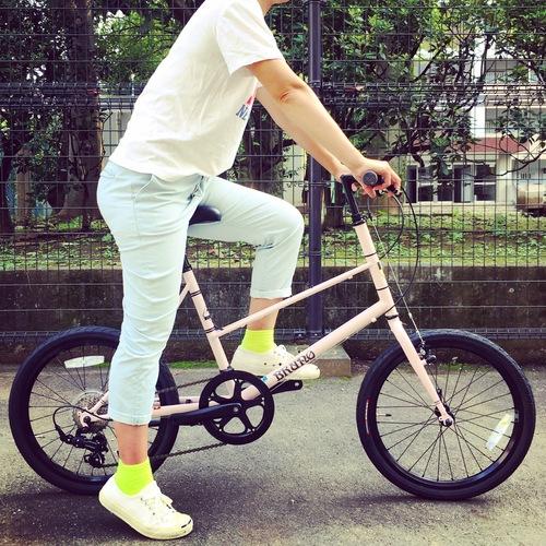 BRUNO 2017 『MIXTE FIAT』ブルーノ ミニベロ おしゃれ自転車 自転車女子 自転車ガール_b0212032_18483659.jpg