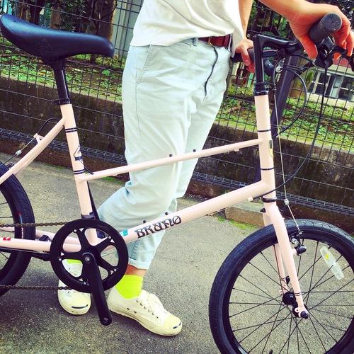 BRUNO 2017 『MIXTE FIAT』ブルーノ ミニベロ おしゃれ自転車 自転車女子 自転車ガール_b0212032_1848739.jpg