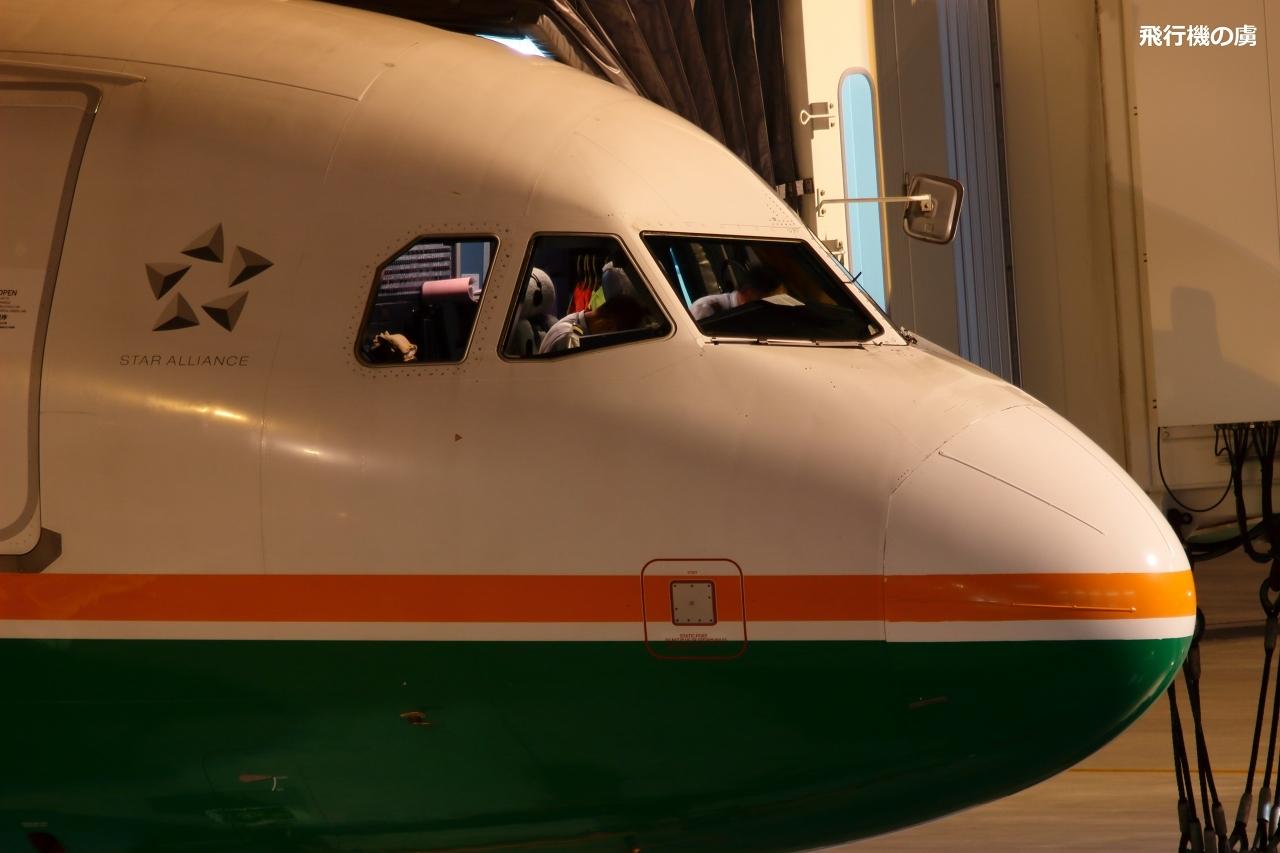 コックピットの様子  A320  エバー航空(BR)_b0313338_06372050.jpg