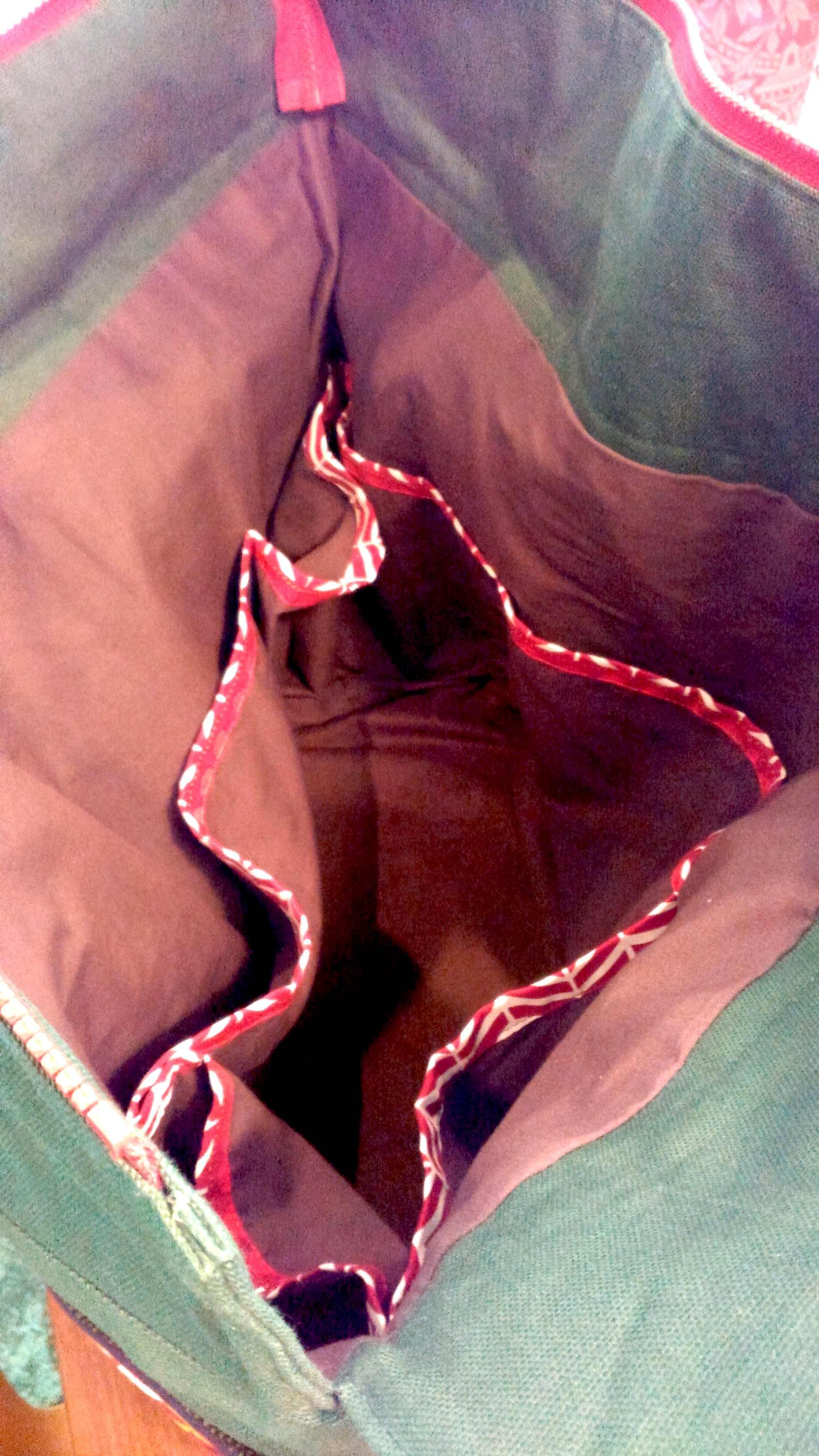 キャンバス生地のバッグ『マリメッコ』_c0157866_192948100.jpg