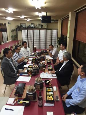 熊谷商工会議所青年部 会頭、副会頭との座談会_d0297177_09362976.jpg