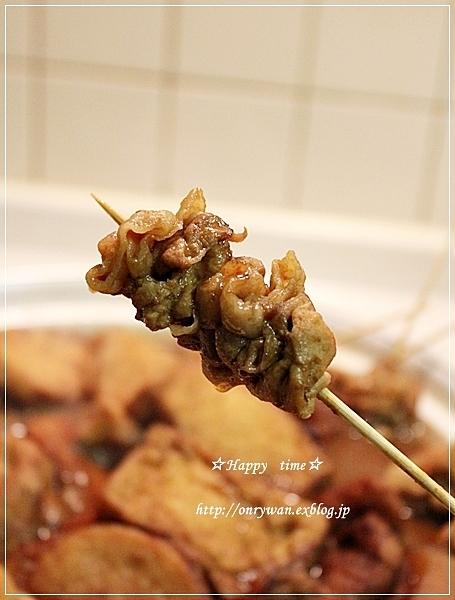 つくねとしめじの照焼き弁当と味噌おでん♪_f0348032_18391481.jpg