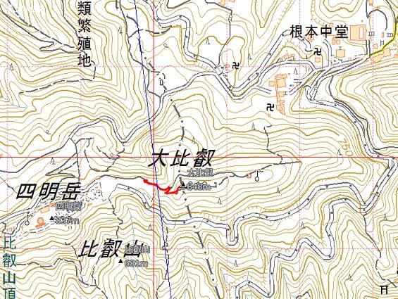 京都・滋賀の山旅・・1日目_e0164643_1662951.jpg