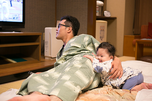 鬼怒川温泉 生後8ヶ月初温泉&初浴衣_c0092152_3205146.jpg