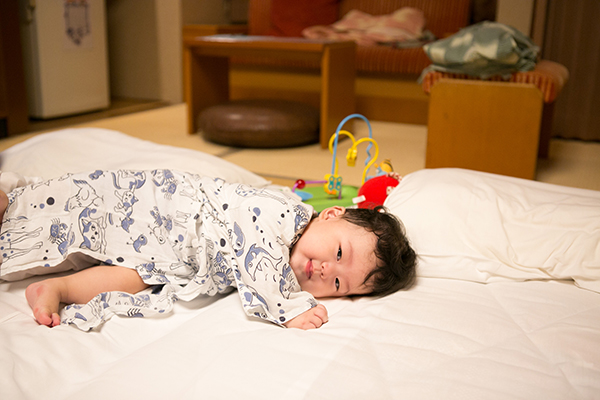 鬼怒川温泉 生後8ヶ月初温泉&初浴衣_c0092152_321470.jpg