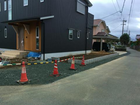 大島 Oさんの家 ★外構工事_d0205883_8505145.jpg