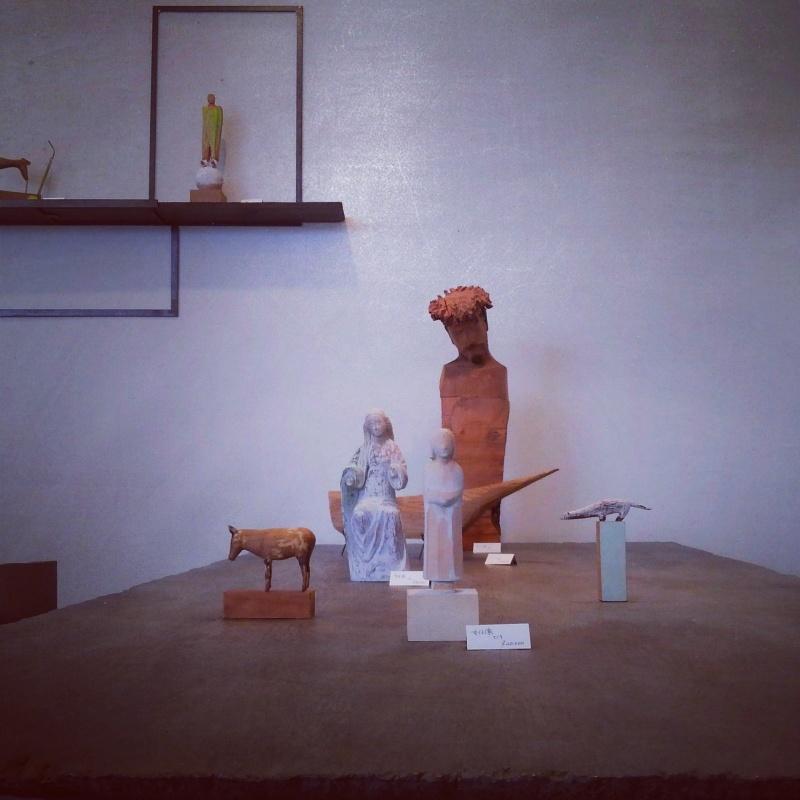 沢田英男さんの展示1_f0351305_08560025.jpg