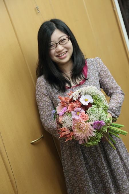 一会定期スクール 9月、秋の花のブーケ 登録生徒さん募集のお知らせ_a0042928_23172148.jpg