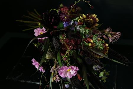 一会定期スクール 9月、秋の花のブーケ 登録生徒さん募集のお知らせ_a0042928_2352159.jpg