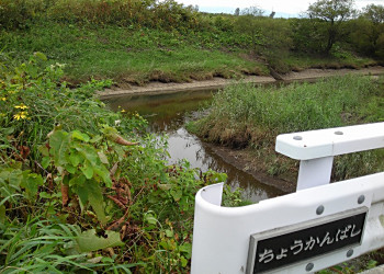 南幌フットパス(3)幌向運河沿いを西へ_f0078286_11215114.jpg