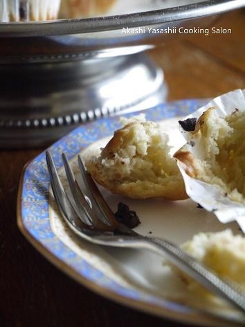 バター・砂糖なしでバナナチョコチップマフィン_f0361692_16583478.jpg