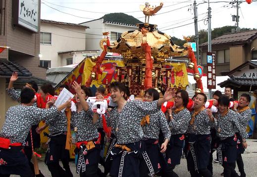 第56回 山中温泉こいこい祭りが始まりました!_f0040218_17341518.jpg