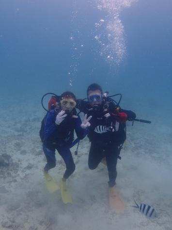 9月23日スーパーミラクル体験ダイビング!!イルカ現る_c0070933_22112042.jpg