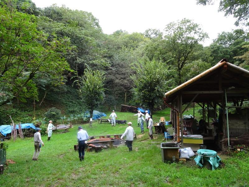 来客の対応で草刈り・・・孝子の森_c0108460_17592661.jpg