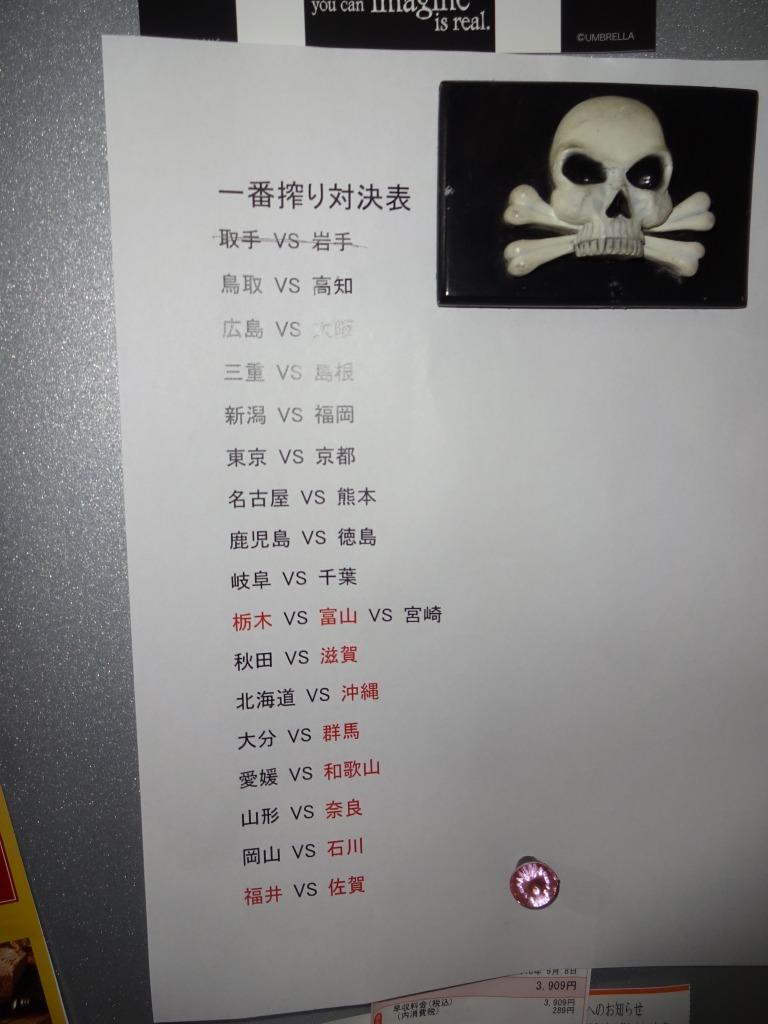 47都道府県一番搾り対決 7 取手 VS 岩手 _d0061678_1754170.jpg