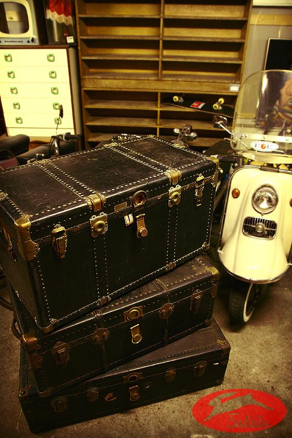 1940s Vintage 日本製 船トランク 航海 海賊 宝箱_e0243096_22323991.jpg