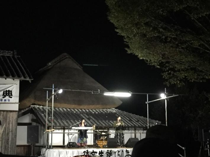第11回音と光の祭典 in 宮崎兄弟生家♪_b0115751_22461084.jpg