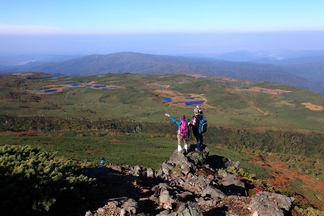 愛別岳の紅葉、9月22日-同行者からの写真-_f0138096_10362094.jpg
