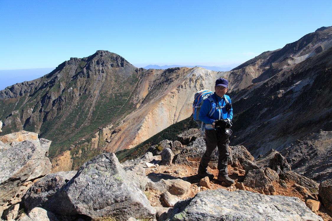 愛別岳の紅葉、9月22日-同行者からの写真-_f0138096_10364253.jpg