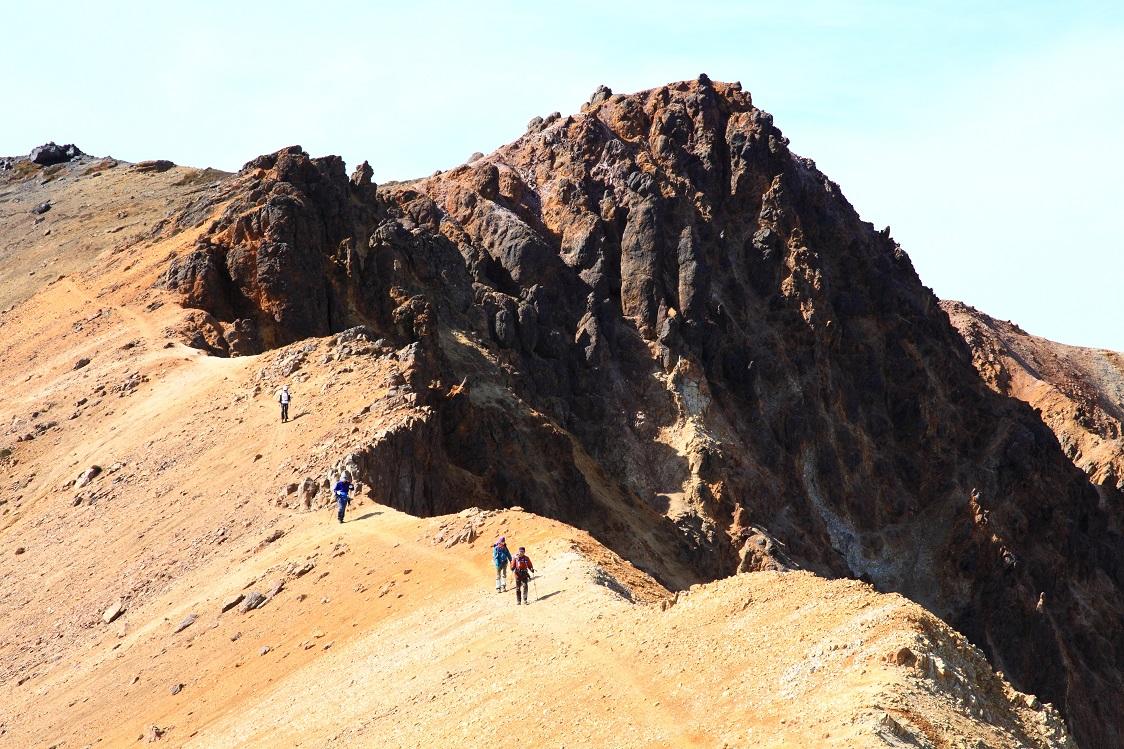 愛別岳の紅葉、9月22日-同行者からの写真-_f0138096_10365257.jpg