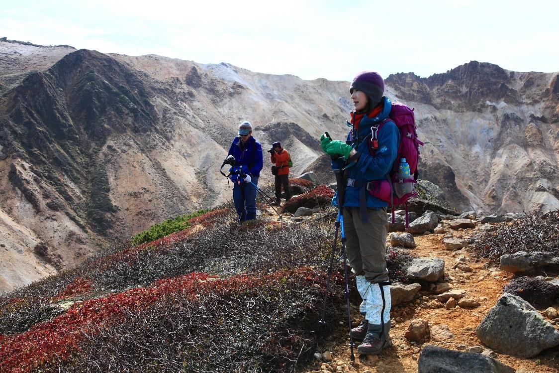 愛別岳の紅葉、9月22日-同行者からの写真-_f0138096_10371970.jpg