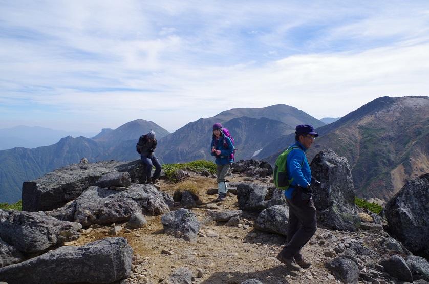 愛別岳の紅葉、9月22日-同行者からの写真-_f0138096_10381137.jpg