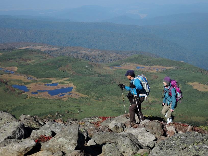 愛別岳の紅葉、9月22日-同行者からの写真-_f0138096_10382084.jpg