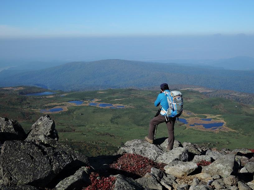 愛別岳の紅葉、9月22日-同行者からの写真-_f0138096_10382750.jpg