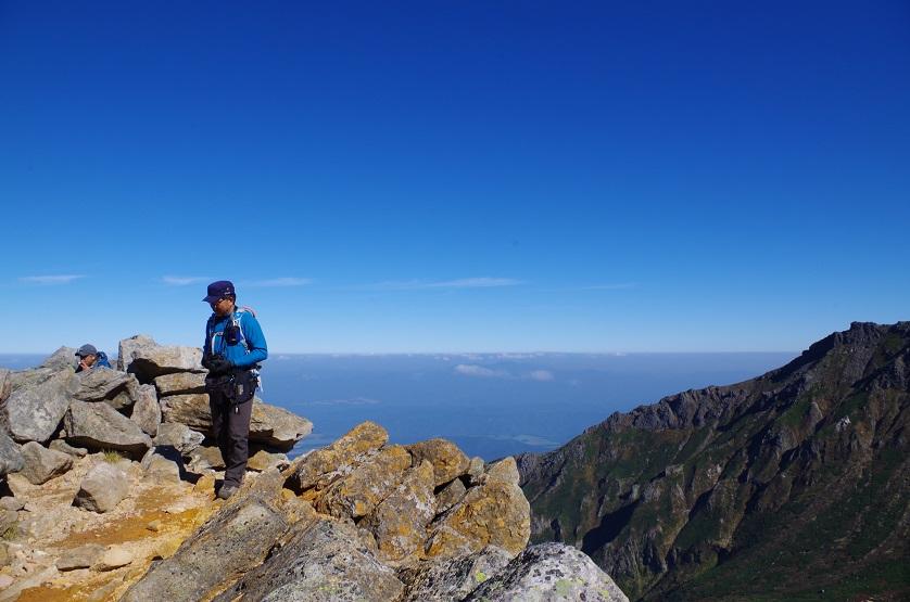 愛別岳の紅葉、9月22日-同行者からの写真-_f0138096_10383642.jpg