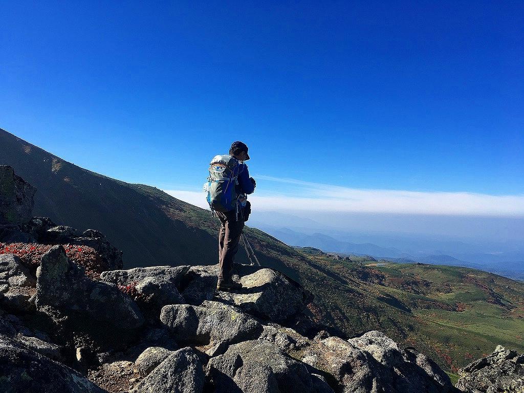 愛別岳の紅葉、9月22日-同行者からの写真-_f0138096_10391169.jpg