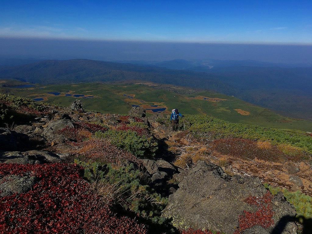 愛別岳の紅葉、9月22日-同行者からの写真-_f0138096_1039279.jpg