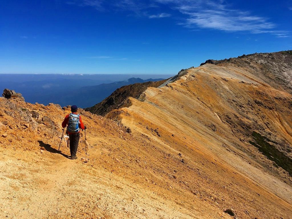 愛別岳の紅葉、9月22日-同行者からの写真-_f0138096_10393528.jpg