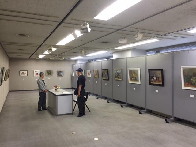 絵画サークルふきのとう作品展やっています!_b0129807_15544565.jpg