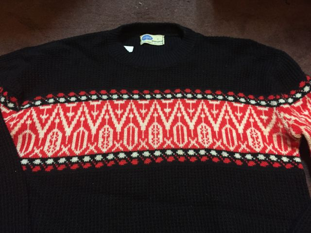 アメリカ仕入れ情報!#54 50s Pilgrim Sports wear sweater _c0144020_1542036.jpg