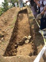 茶臼山の古墳は「柄鏡式」の前方後円墳_c0133422_1323931.jpg