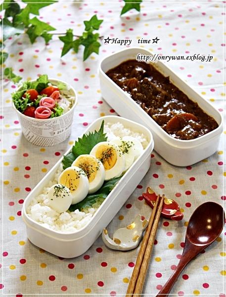カレーライス弁当と常備菜作り♪_f0348032_17424002.jpg
