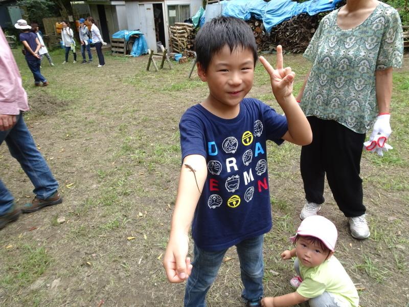 ZooCan イベント『里山で栗拾い・親子で栗ごはん作り体験』  in 孝子の森_c0108460_22525087.jpg