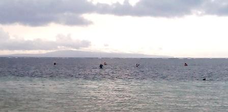 ドゥユンビーチの今朝の360度_d0083068_1123438.jpg