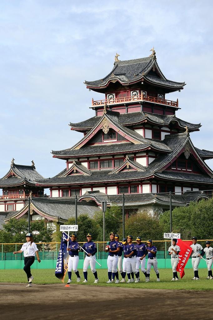 第1回日本少年野球マツダボール旗争奪3年生大会開会式_a0170082_19334257.jpg