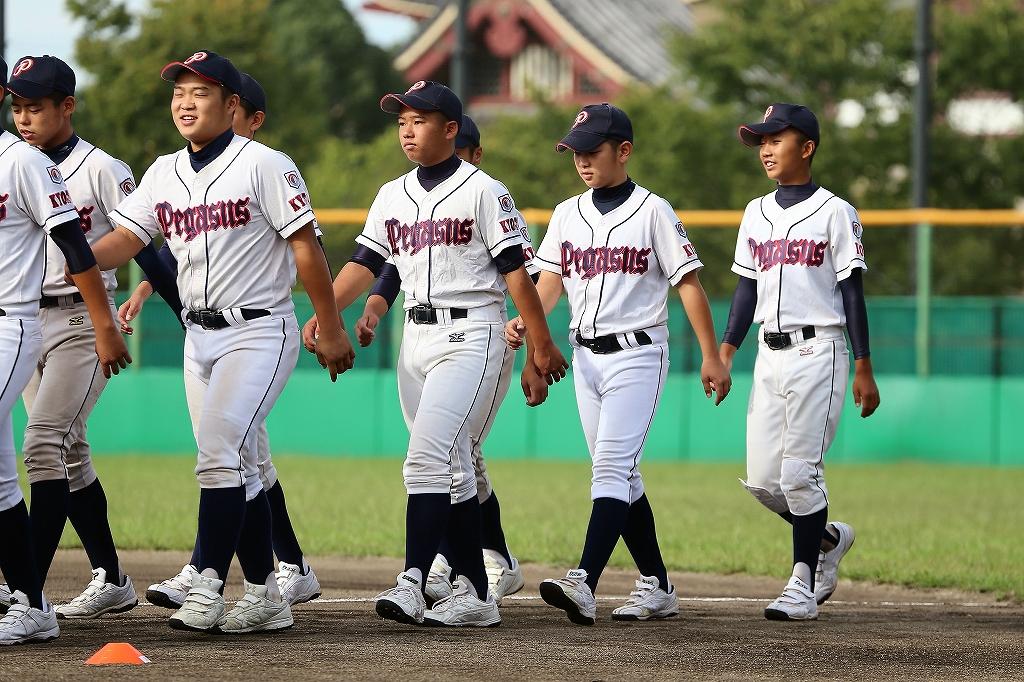 第1回日本少年野球マツダボール旗争奪3年生大会開会式_a0170082_1936226.jpg