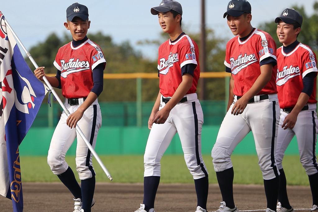 第1回日本少年野球マツダボール旗争奪3年生大会開会式_a0170082_19383026.jpg