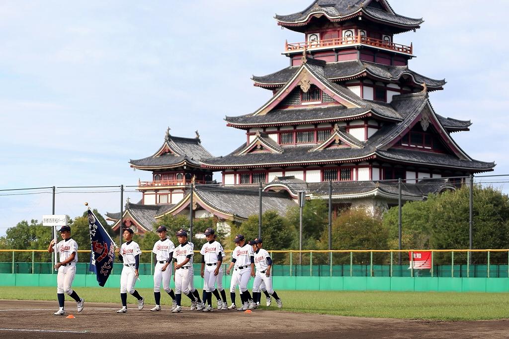 第1回日本少年野球マツダボール旗争奪3年生大会開会式_a0170082_19384645.jpg