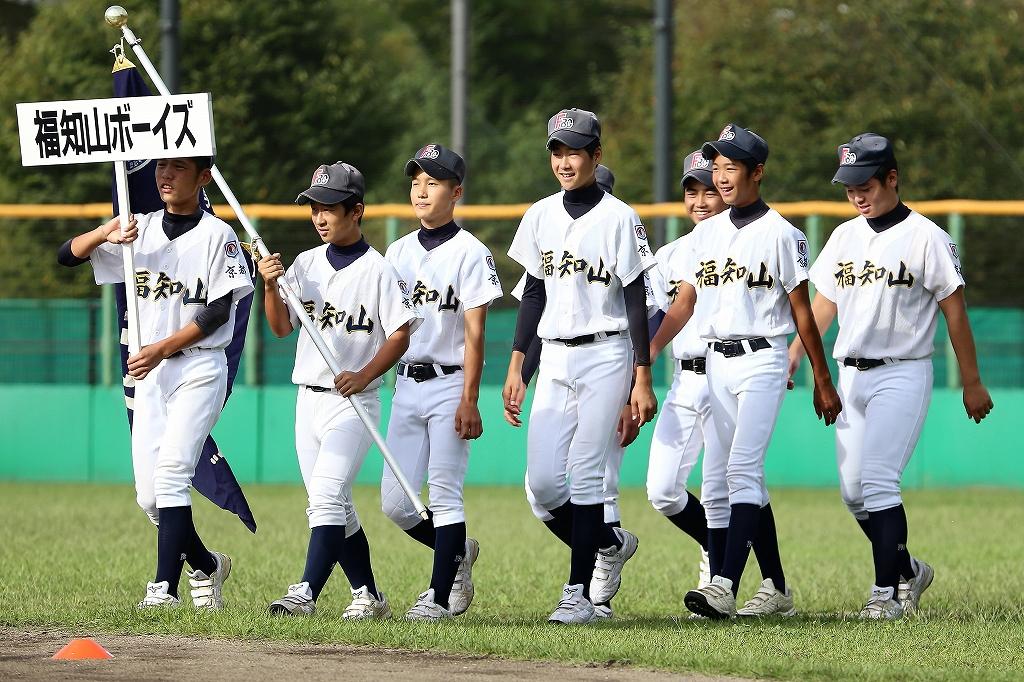 第1回日本少年野球マツダボール旗争奪3年生大会開会式_a0170082_19401085.jpg